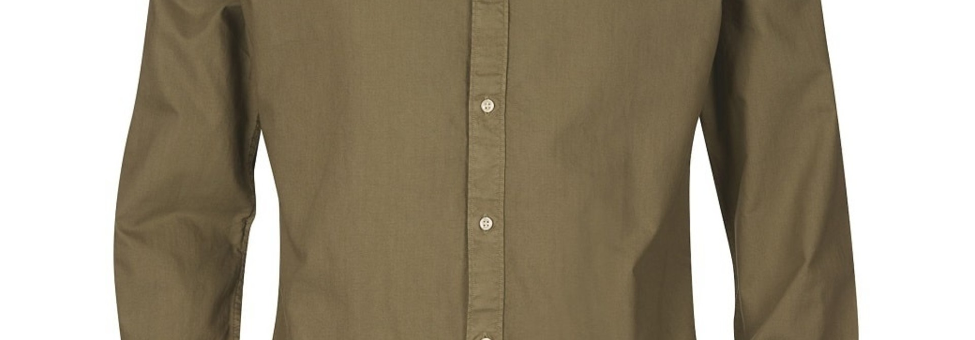 Barbour Oxford 13 Tailored Shirt Olive