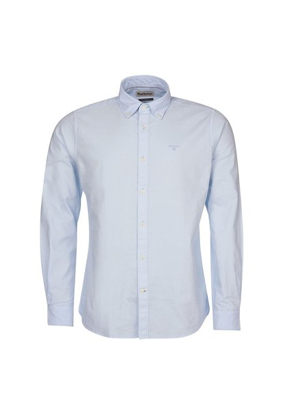 Barbour Oxford 13 Tailored Shirt Sky Blue