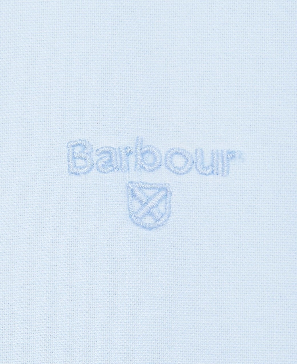 Barbour Oxford 13 Tailored Shirt Sky Blue-6