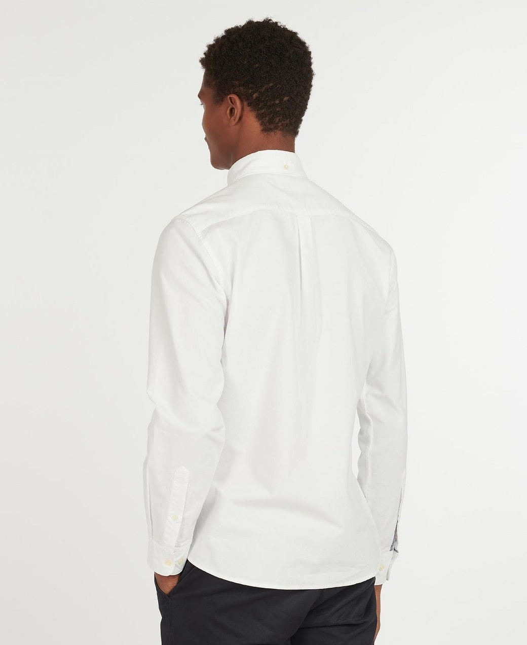 Barbour Oxford 13 Tailored Shirt White-4