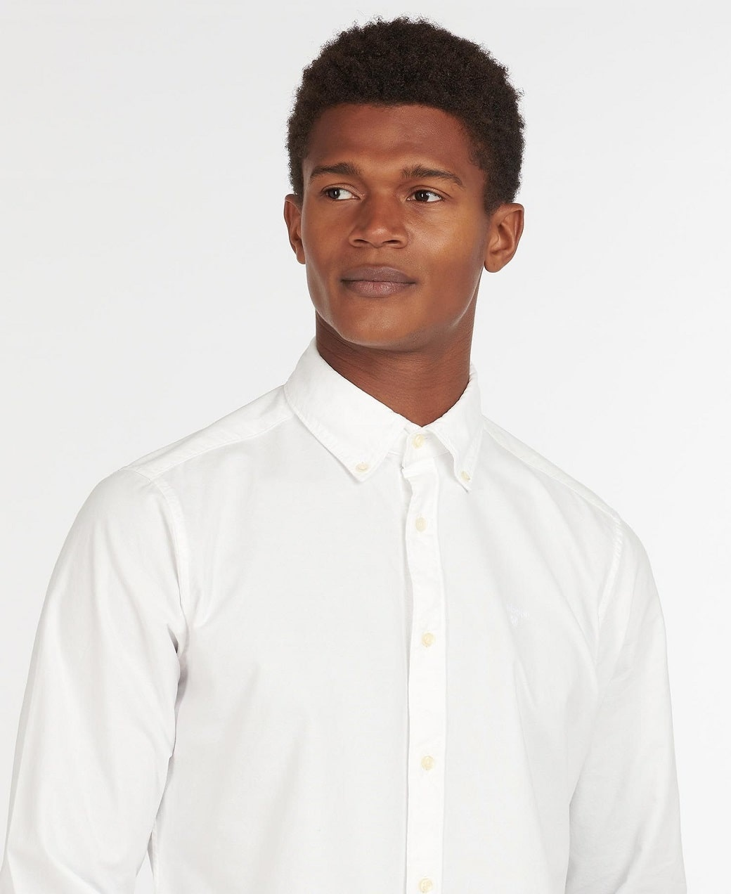 Barbour Oxford 13 Tailored Shirt White-5