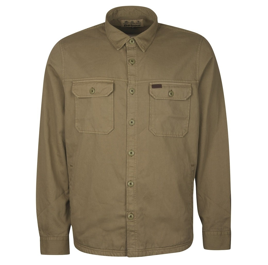 Barbour Rydale Overshirt Olive-1