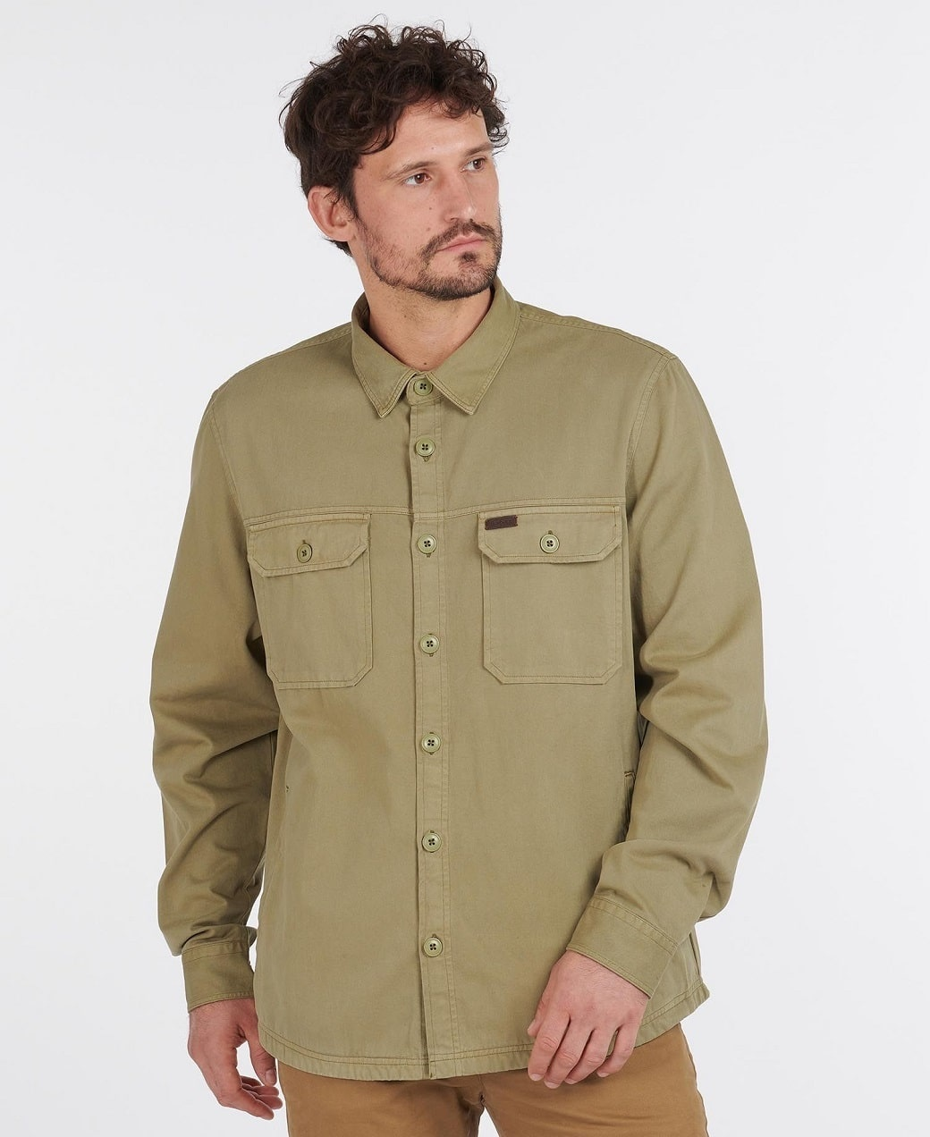 Barbour Rydale Overshirt Olive-2