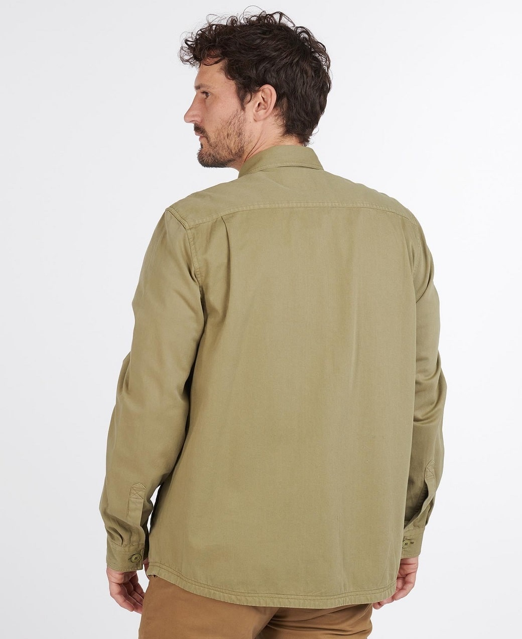 Barbour Rydale Overshirt Olive-4
