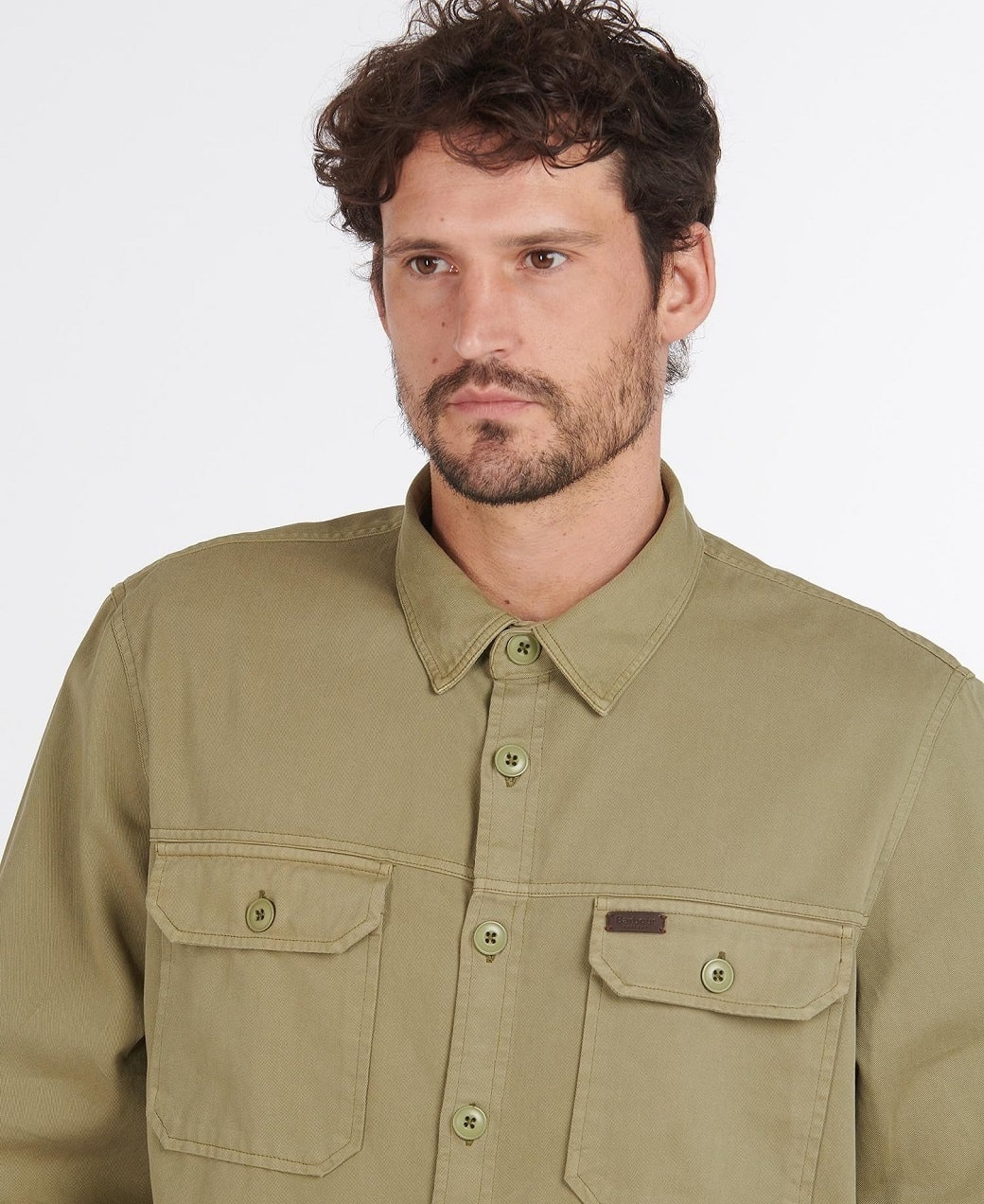 Barbour Rydale Overshirt Olive-5