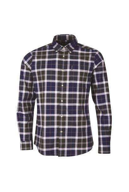 Barbour Tartan 11 Tailored Shirt  Sage