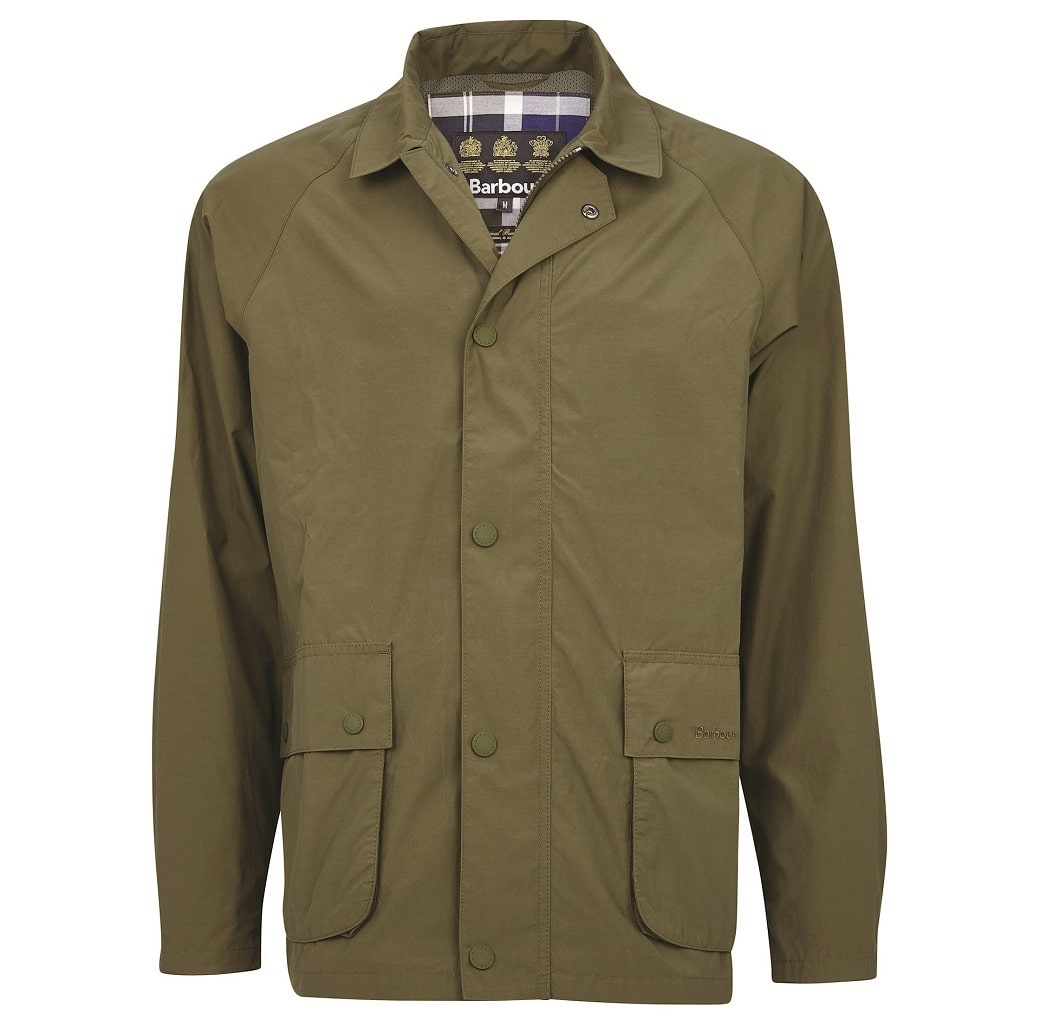 Barbour Laslo Casual Olive-1