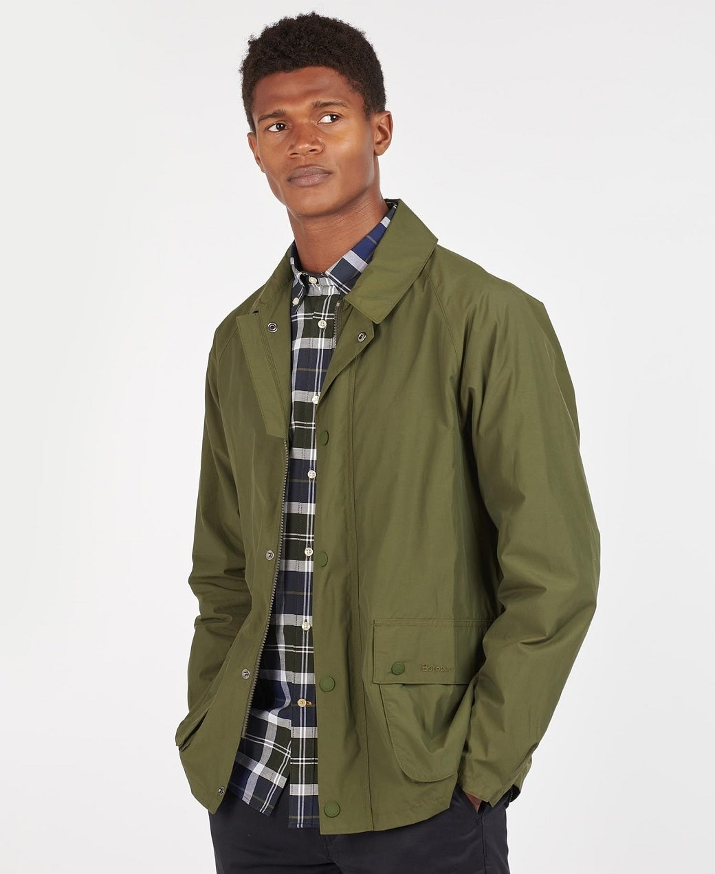 Barbour Laslo Casual Olive-2