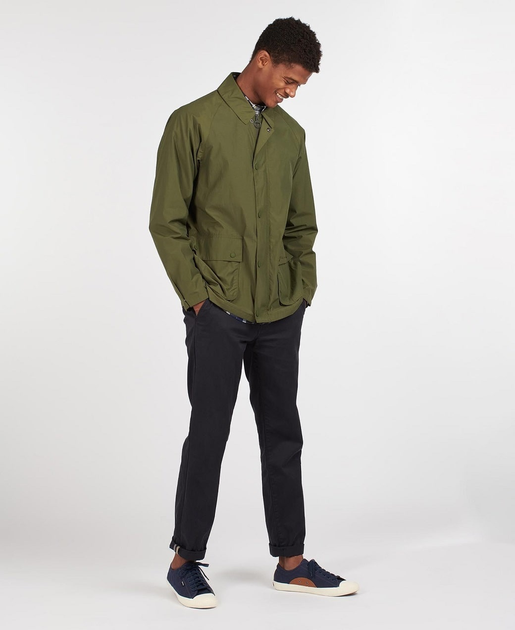 Barbour Laslo Casual Olive-3