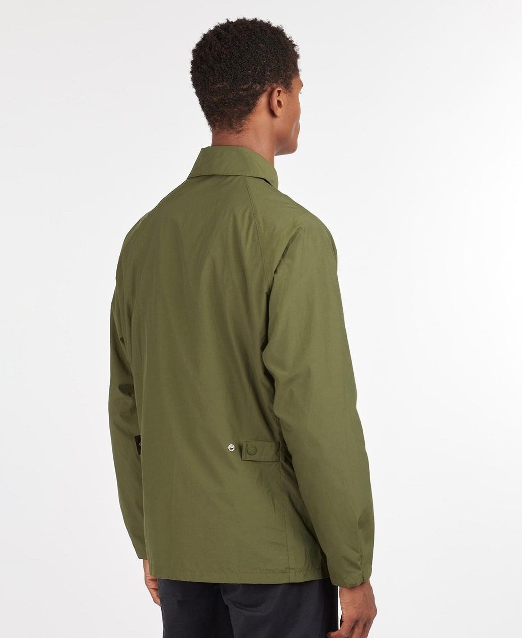 Barbour Laslo Casual Olive-4