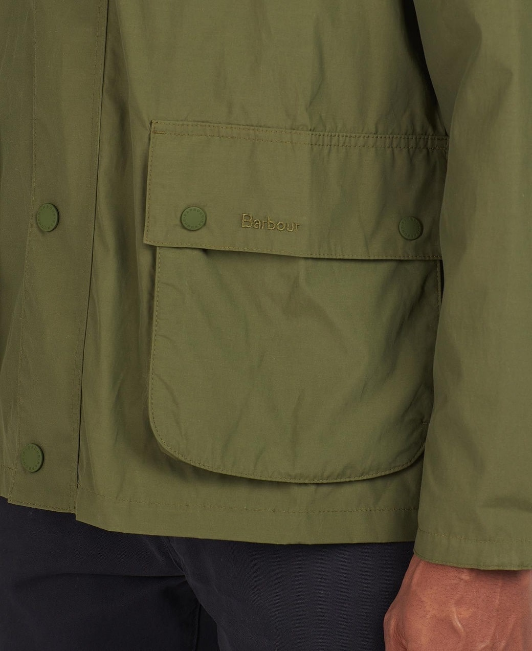 Barbour Laslo Casual Olive-6