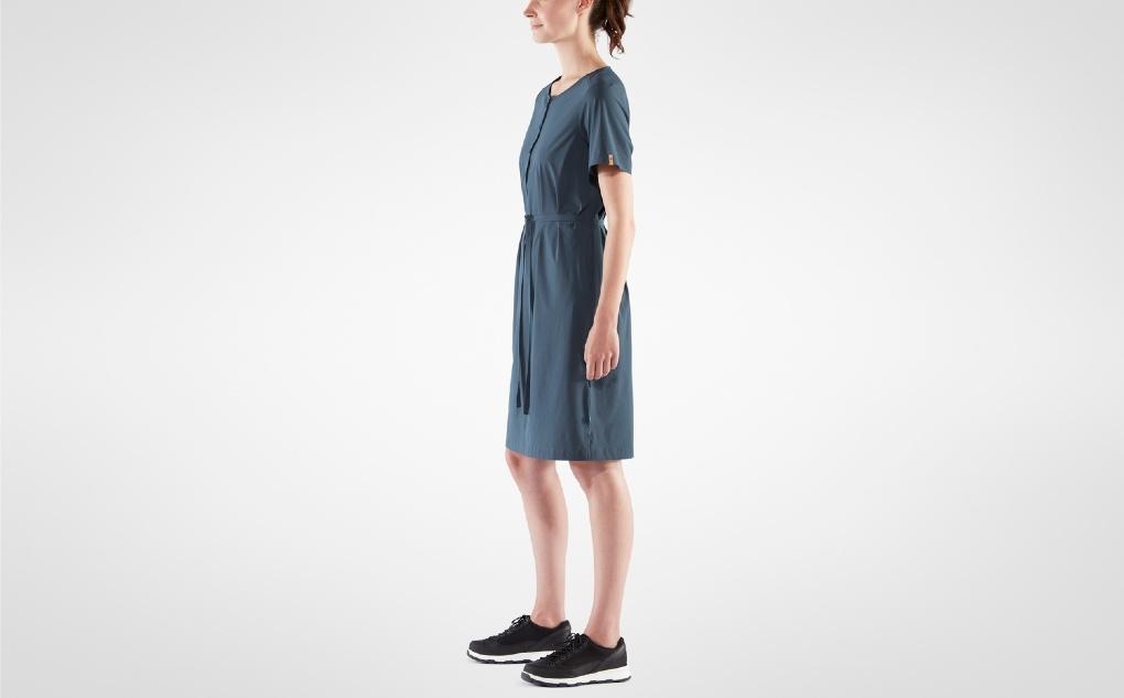 Fjällräven Övik Lite Dress Navy-5