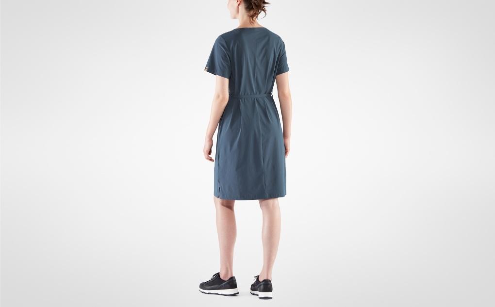 Fjällräven Övik Lite Dress Navy-4