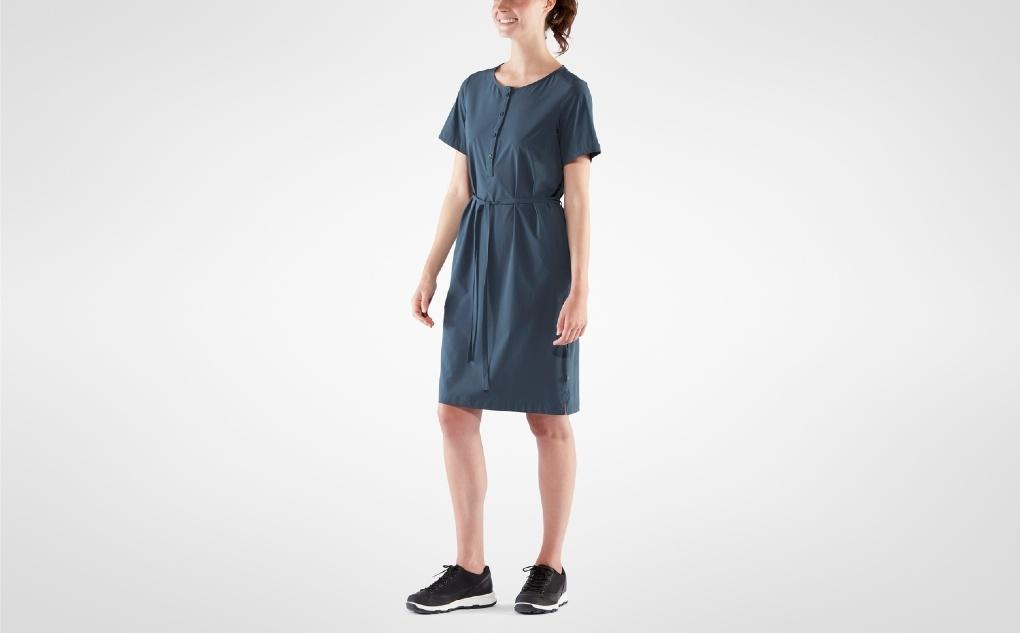 Fjällräven Övik Lite Dress Navy-3
