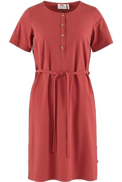 Fjällräven Övik Lite Dress Raspberry Red