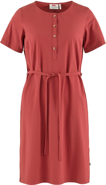 Fjällräven Övik Lite Dress Raspberry Red-1