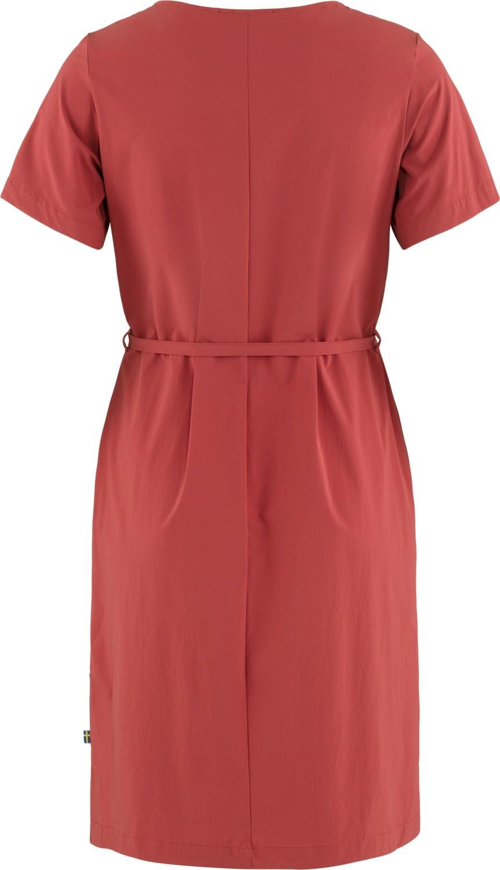 Fjällräven Övik Lite Dress Raspberry Red-2