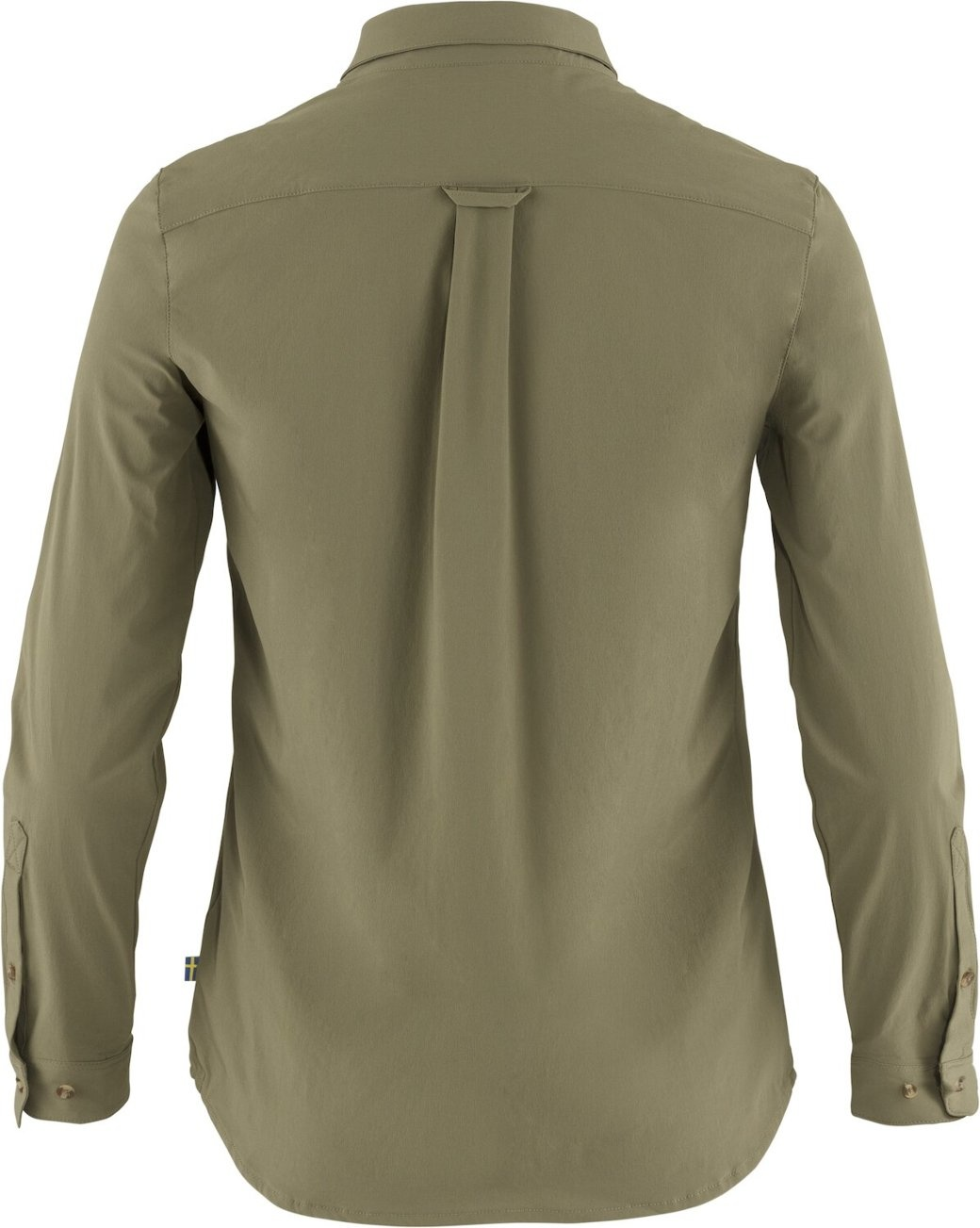 Fjällräven Övik Lite Shirt LS W Green-2