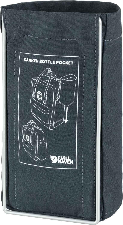 Fjällräven Kånken Bottle Pocket Navy-2