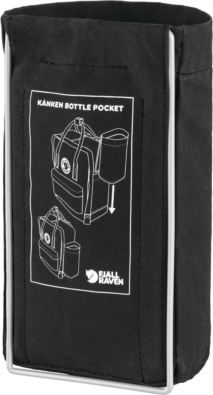 Fjällräven Kånken Bottle Pocket Black-2