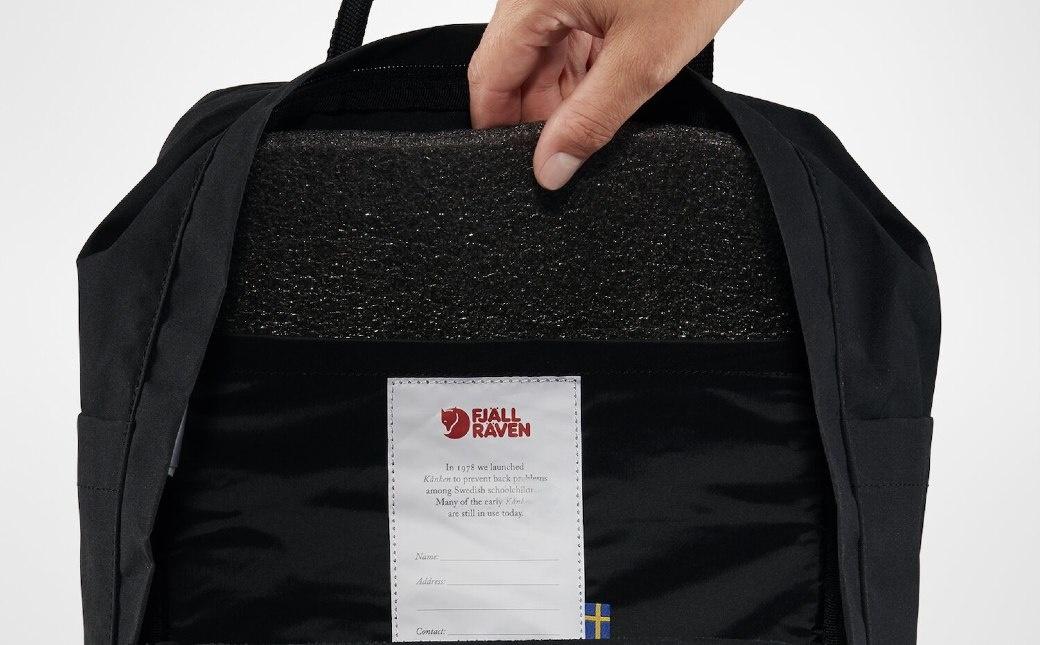 """Fjällräven Kånken Laptop 15"""" Black-4"""