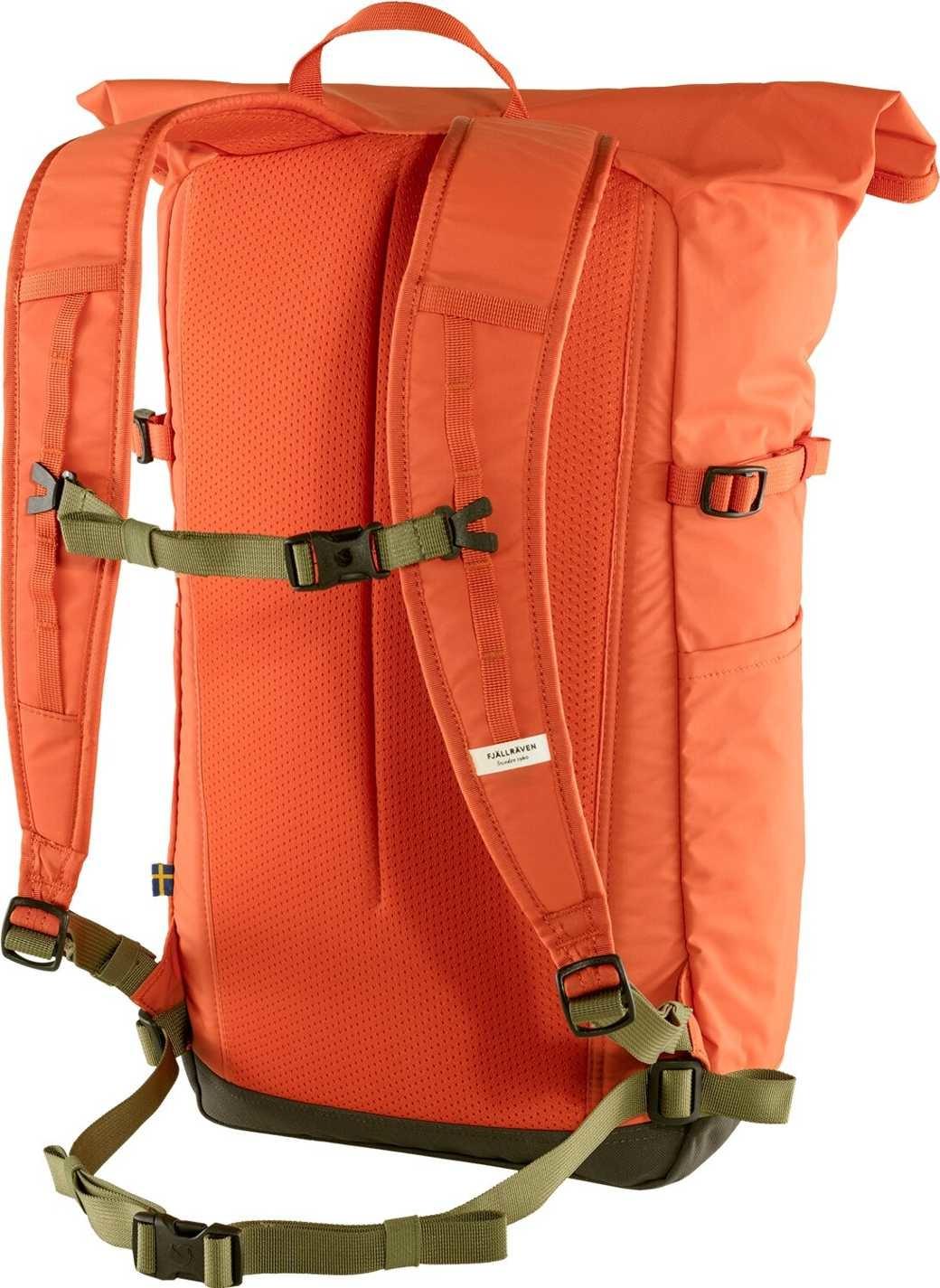 Fjällräven High Coast Foldsack 24  Rowan Red-2