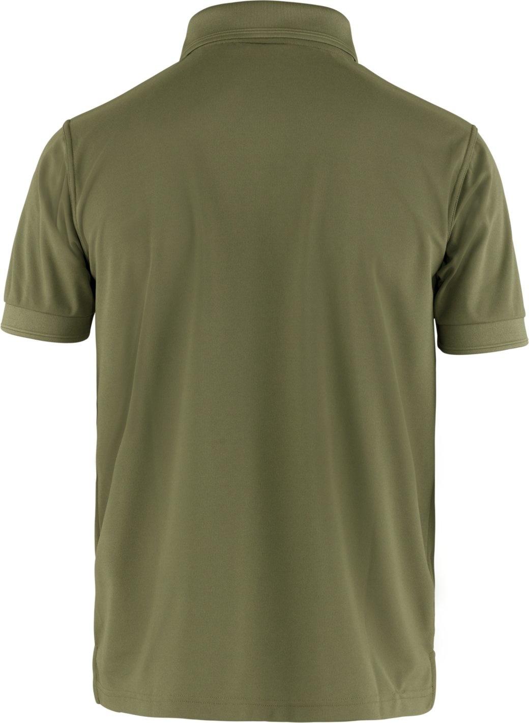 Fjällräven Crowley Pique Shirt M Light Olive-2