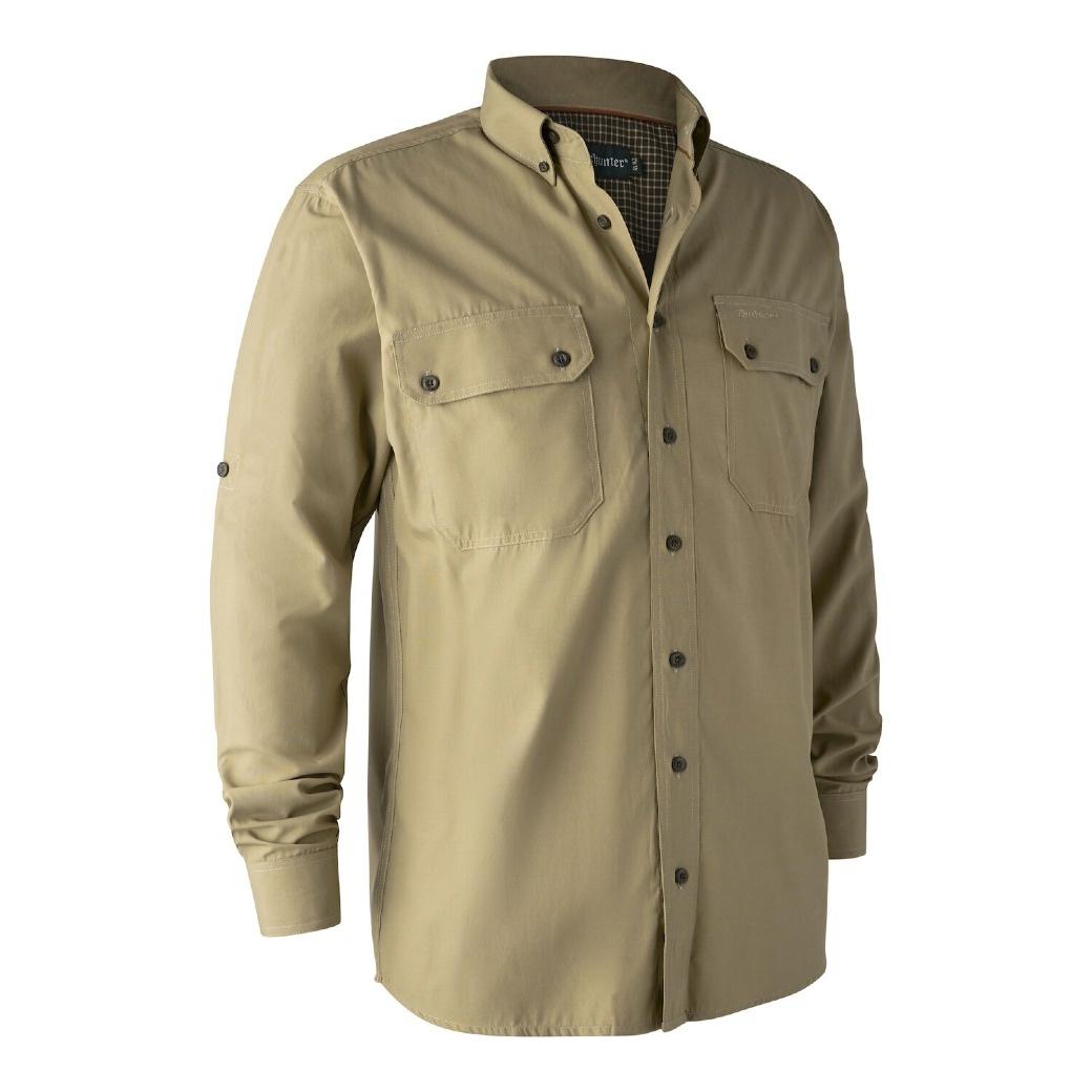 Deerhunter Reyburn Bamboo Shirt Cloudberry-1
