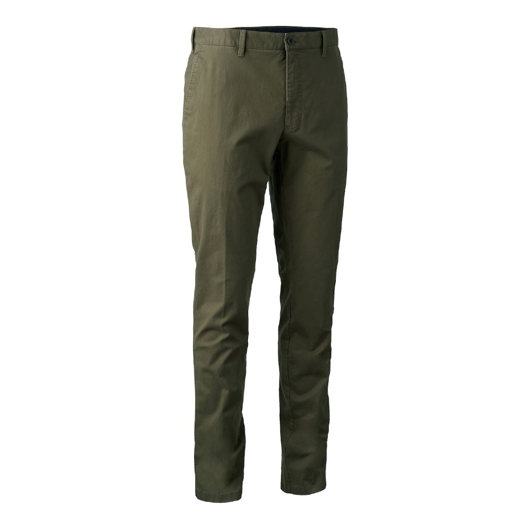 Deerhunter Casual Trousers Art Green-1
