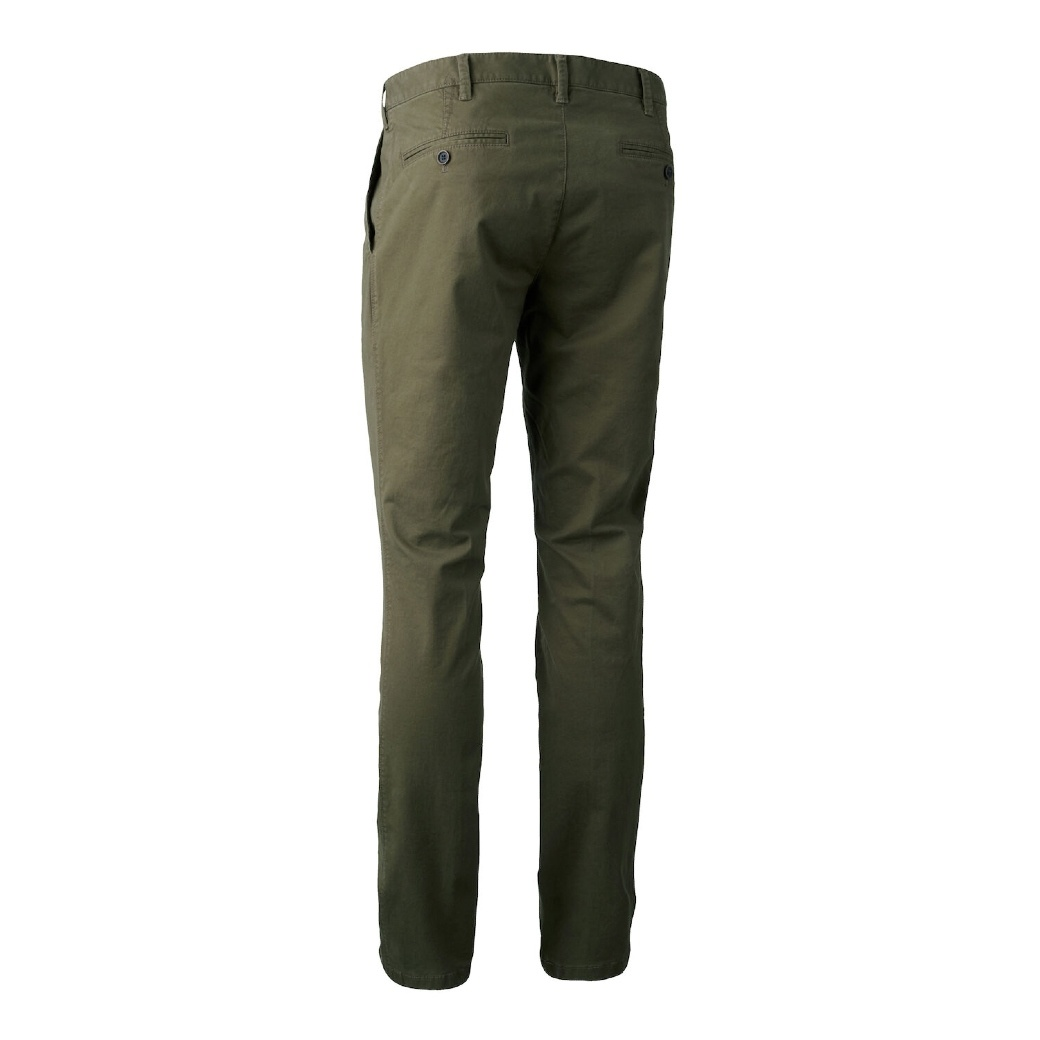Deerhunter Casual Trousers Art Green-2