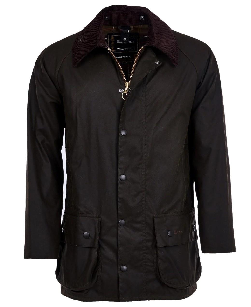 Barbour Classic Beaufort Wax Jacket Olive-1