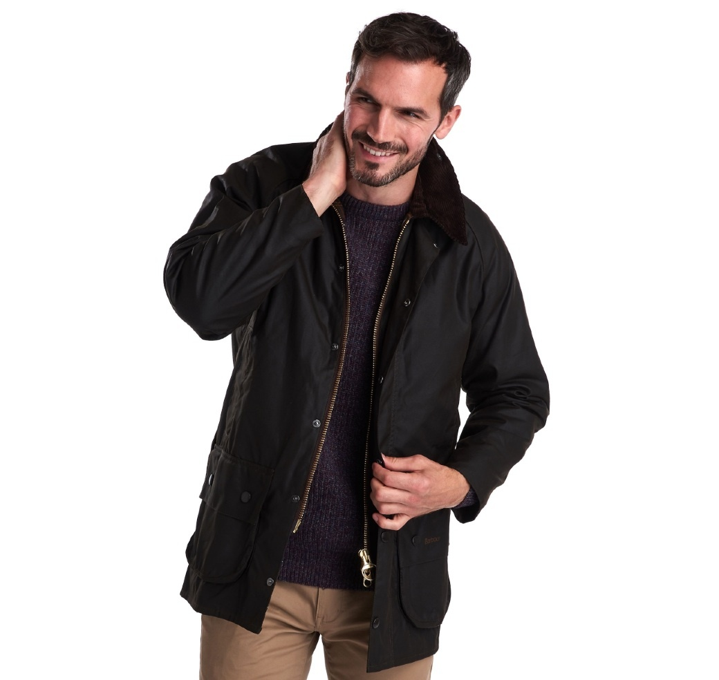 Barbour Classic Beaufort Wax Jacket Olive-4