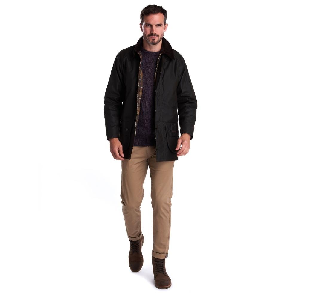 Barbour Classic Beaufort Wax Jacket Olive-9