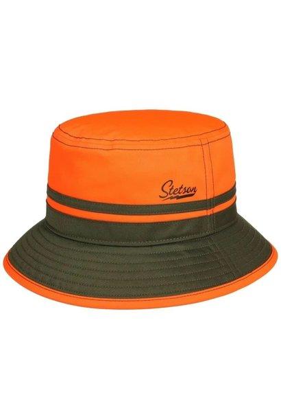 Stetson Bucket Orange Blaze Green