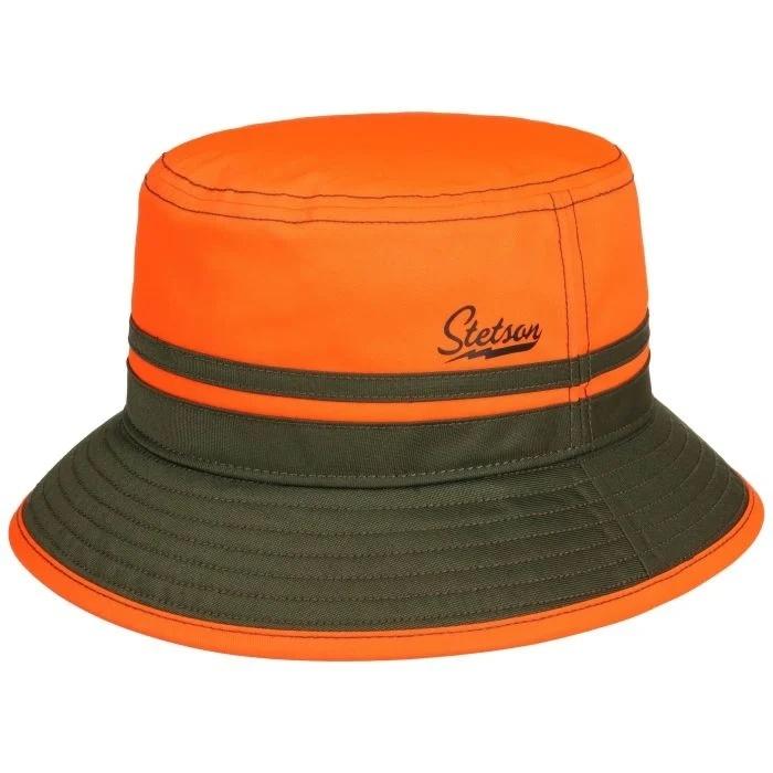 Stetson Bucket Orange Blaze Green-1