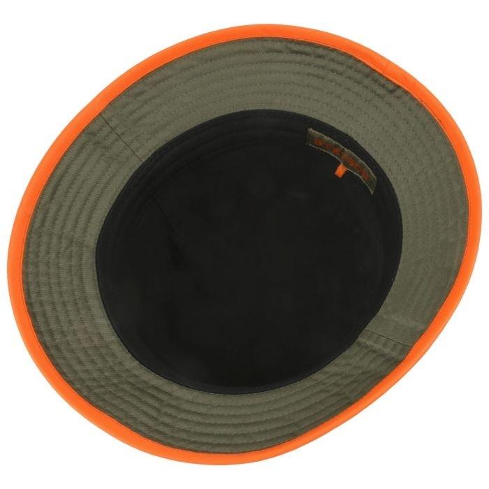 Stetson Bucket Orange Blaze Green-3