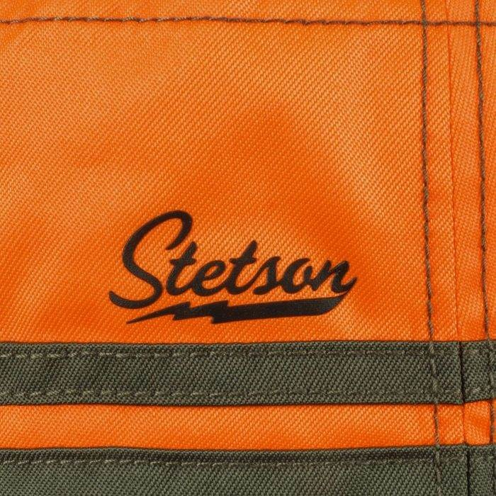 Stetson Bucket Orange Blaze Green-4