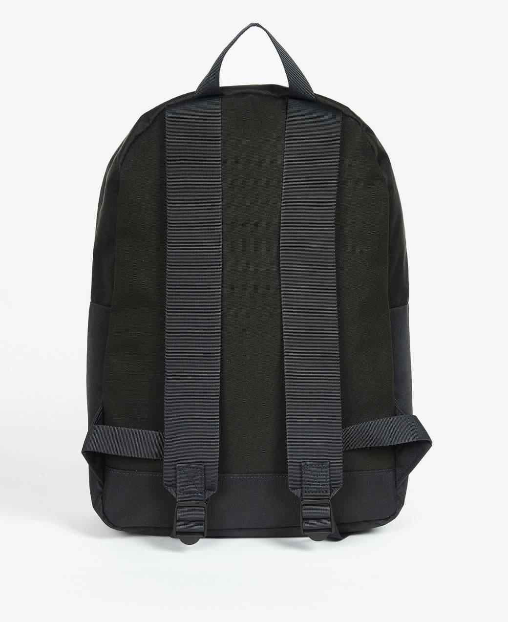 Barbour Highfield Canvas Backpack  Navy/Olive-2