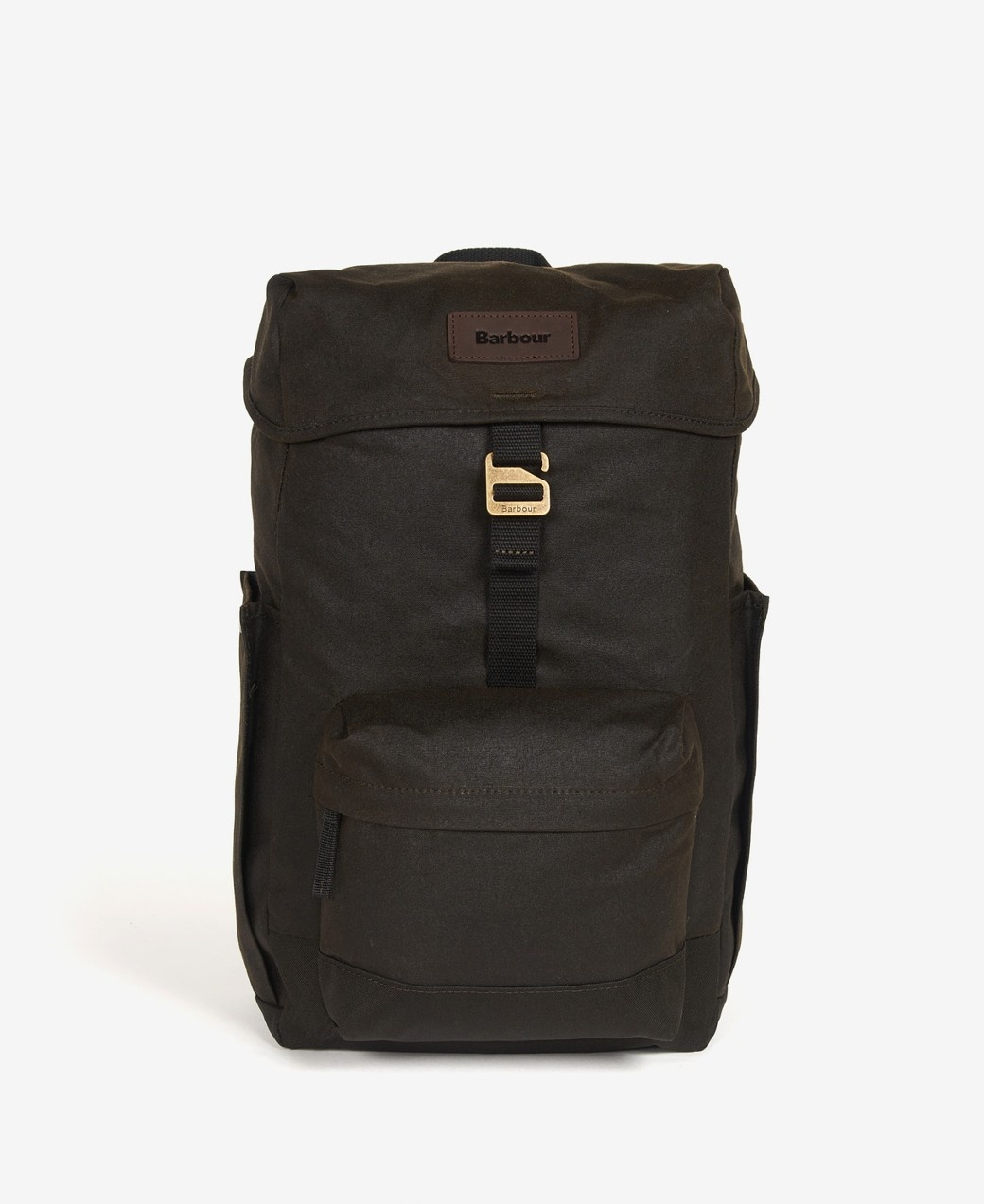 Barbour Essential Wax Backpack  Olive-1