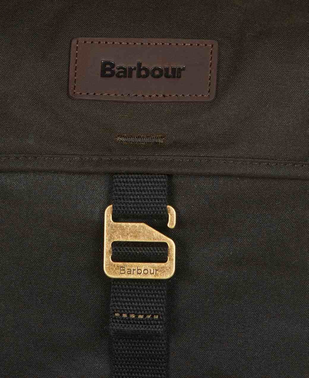 Barbour Essential Wax Backpack  Olive-3