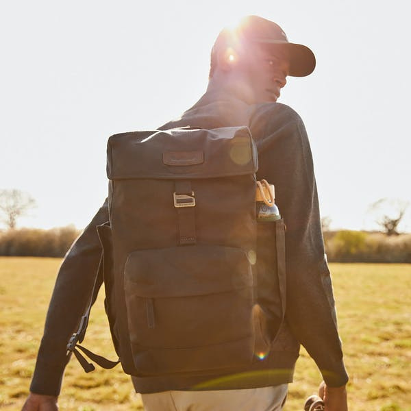 Barbour Essential Wax Backpack  Olive-6