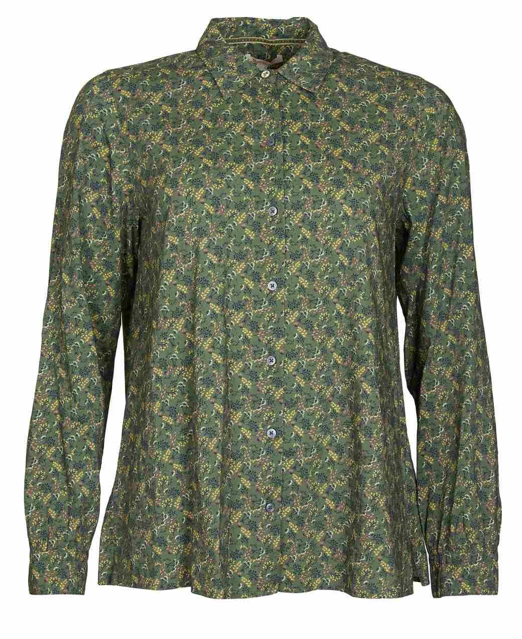 Barbour Hindscarth Shirt Sage Print-1