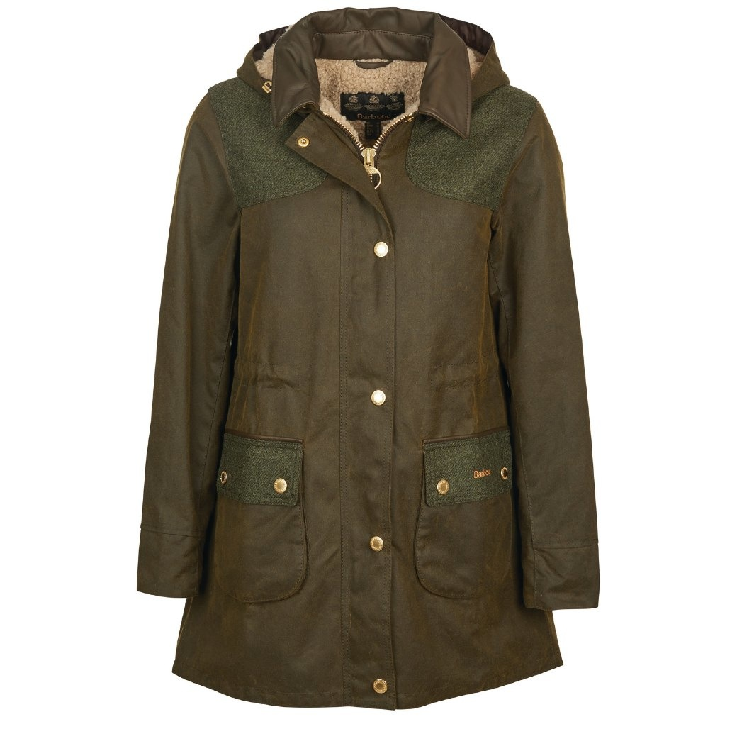 Barbour Keiss Wax Olive/Natural-1