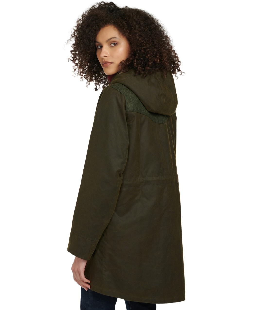 Barbour Keiss Wax Olive/Natural-3