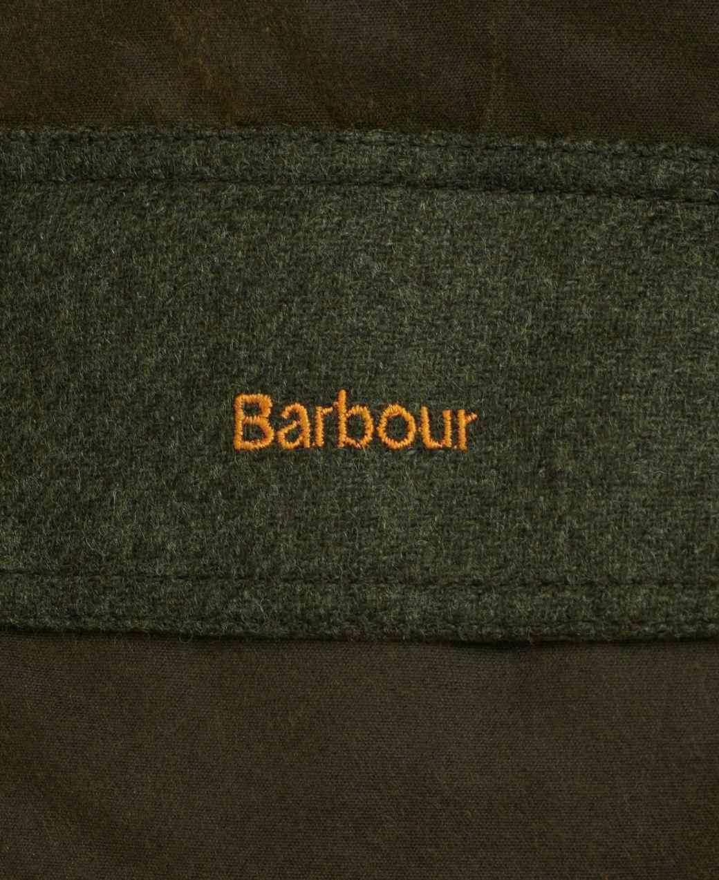 Barbour Keiss Wax Olive/Natural-7