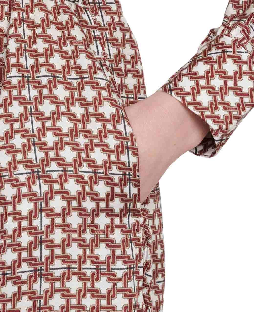 Barbour Tabert Dress Multi-4