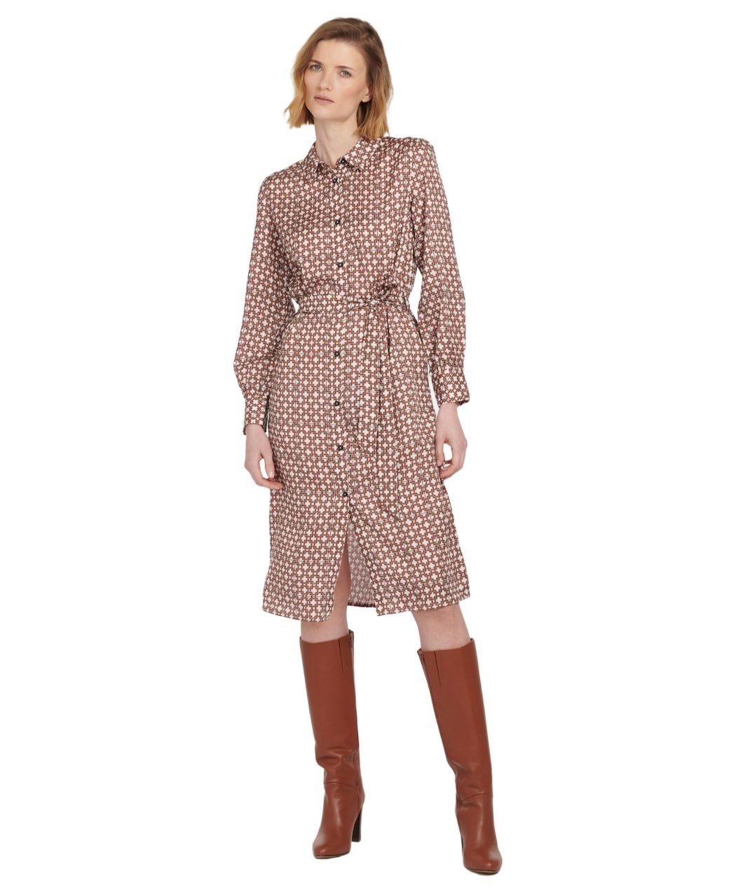 Barbour Tabert Dress Multi-8