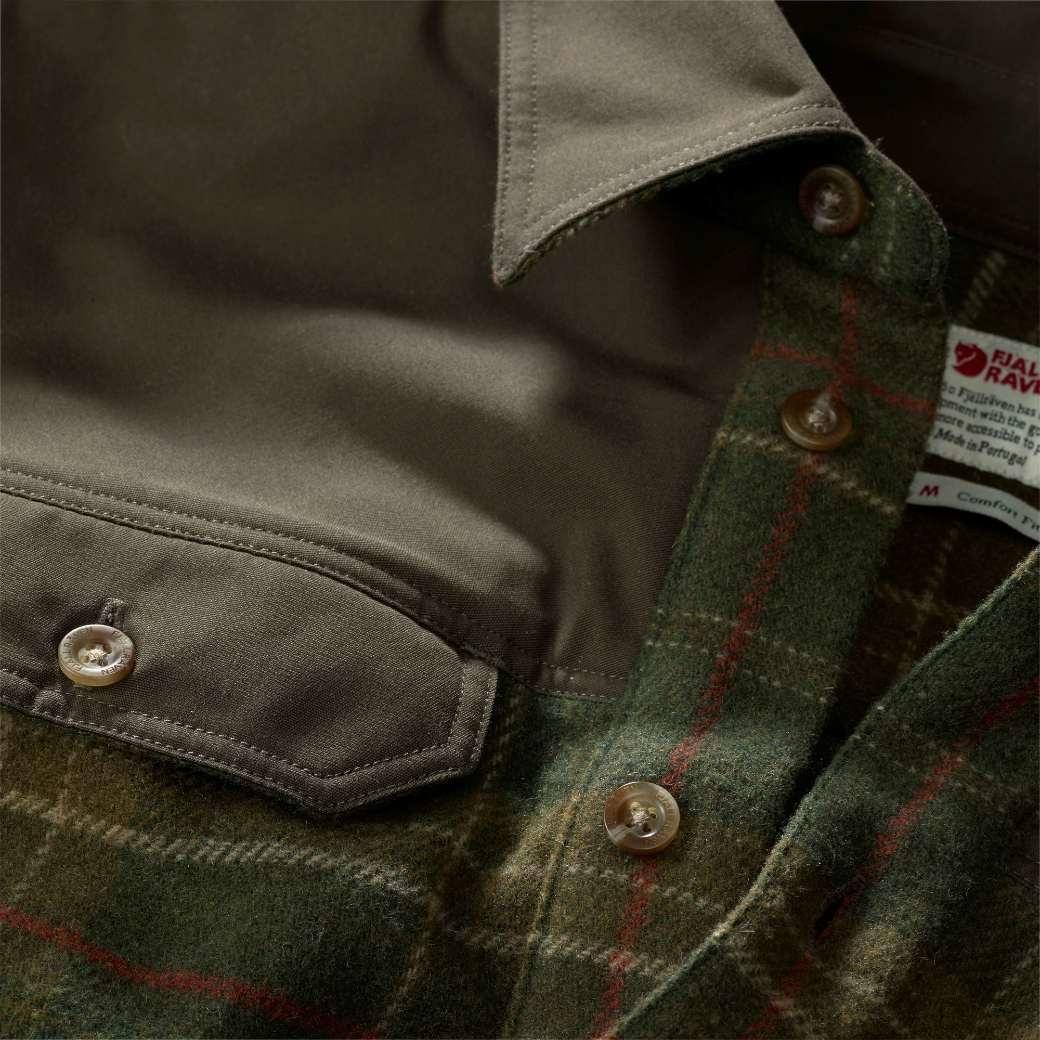 Fjällräven Granit Shirt M Green-7