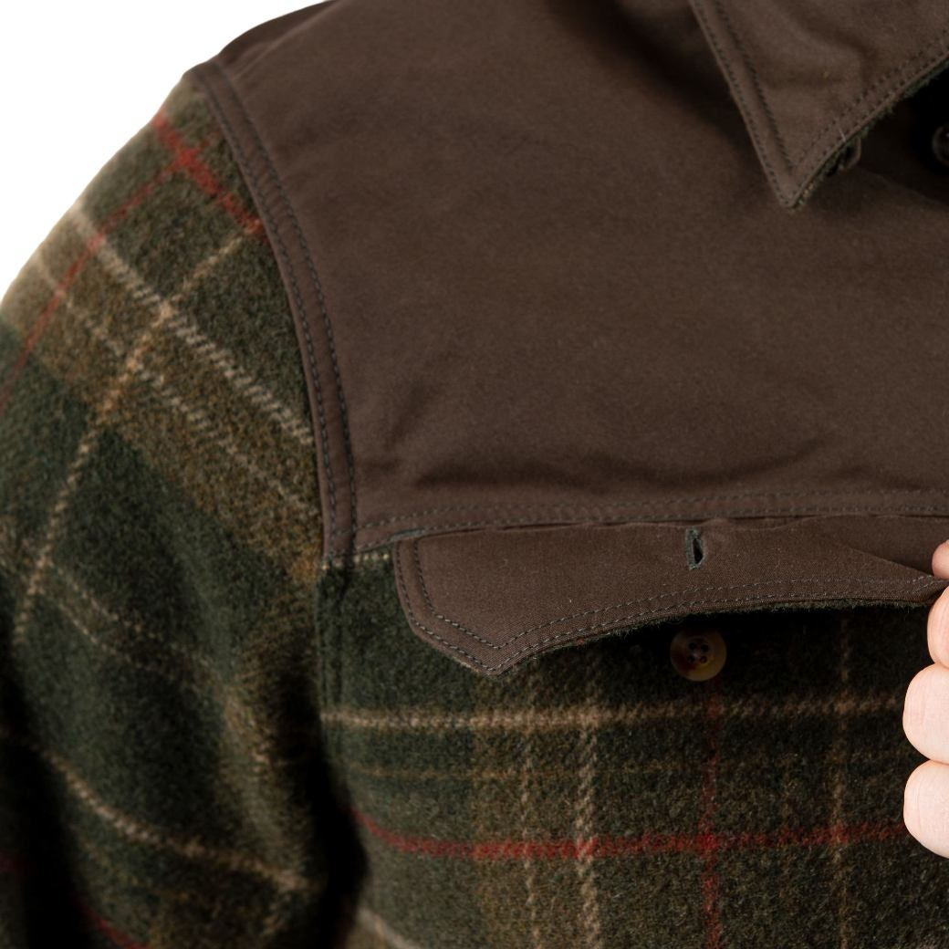Fjällräven Granit Shirt M Green-6