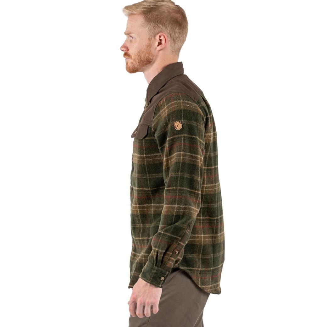 Fjällräven Granit Shirt M Green-4